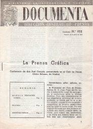 Portada de la edición impresa de la conferencia pronunciada por Campúa en 1955