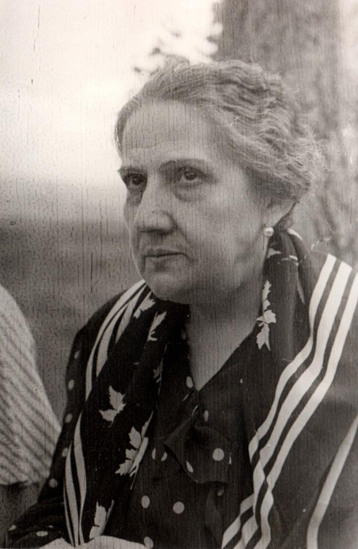 """La madre de José Demaría Vázquez """"Campúa"""", Felisa Vázquez"""