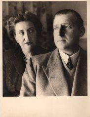 Una imagen de años más tarde de los Condes de Barcelona