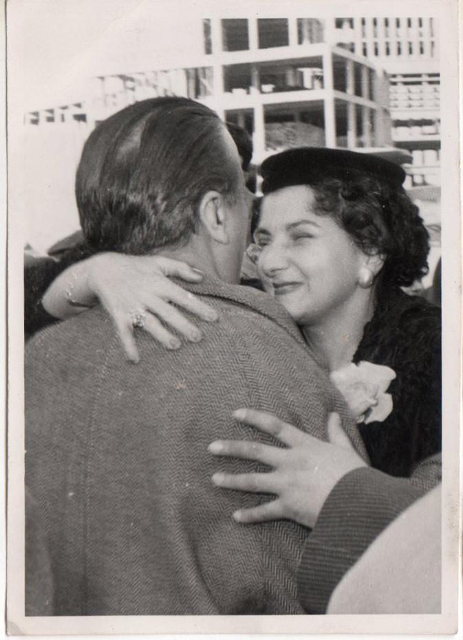Padre e hija estuvieron siempre unidos por la admiración y el amor mutuo