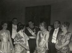 El gobierno argentino ofreció diversas galas y cenas en honor al ministro de Exteriores de España, Martín-Artajo.