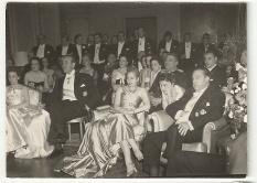 Evita Perón acompañó al ministro español en la mayor parte de los actos de su viaje oficial.