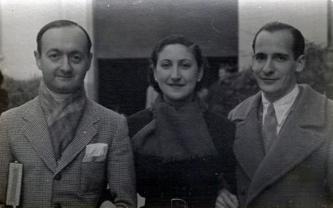 Personalidades de la nobleza y la vida cultural española refugiados en la embajada de Argentina en Madrid en 1936