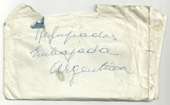 Sobre original en el que Campúa guardaba algunos positivados de su estancia en la embajada de Argentina en Madrid en 1936
