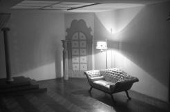 El sencillo atrezzo y el mobiliario permitía posibilidades distintas para las sesiones de fotos