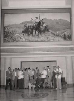 Los fotorreporteros que participaron en el I Congreso en La Habana