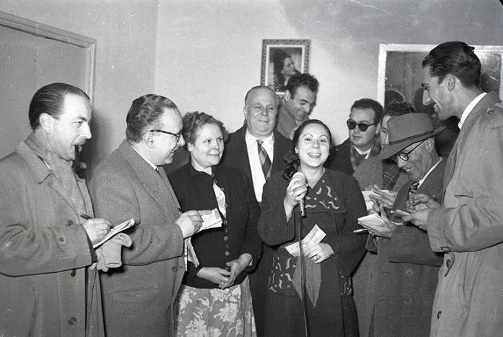 Finalmente la fotografía de Campúa publicada en el Diario Informaciones fue ésta. Tomada el 22 de diciembre de 1952