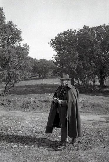 El 22 de febrero de 1964 Franco celebró una nueva cacería en los montes de El Pardo, donde le retrató Campúa