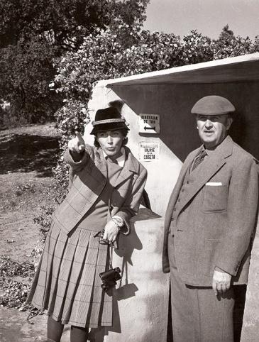 Franco esperaba en el puesto de tiro a que los monteros agruparan a los animales a los que luego daría caza