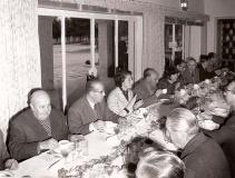 Las comidas tras la cacería eran un punto importante de estos eventos como lugar en el que se desarrollaban las decisiones de poder económico y político