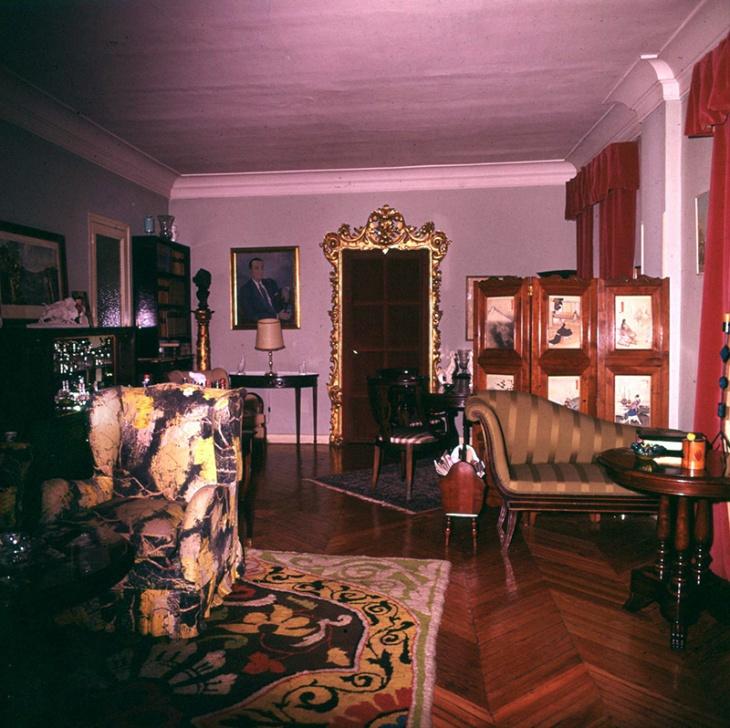 Vista del plató del estudio de Bárbara de Braganza, años más tarde
