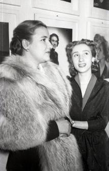 19 de marzo de 1952 Onomástica de José Campúa celebrada en su estudio de la c/ Bárbara de Braganza