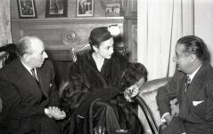 19 de marzo de 1953 Onomástica de José Campúa celebrada en su estudio de la c/ Bárbara de Braganza