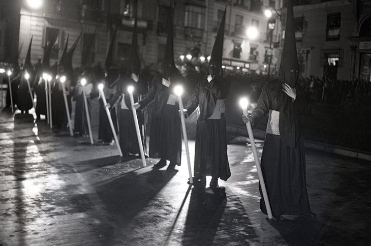 Semana Santa en Madrid, fotografiada por Campúa en abril de 1953