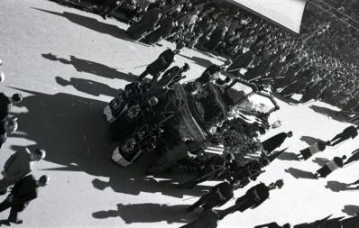 Procesiones en Madrid en la Semana Santa de 1954, fotografiadas por Campúa