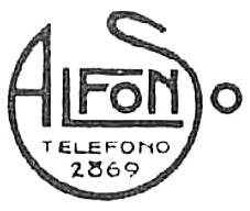 Logotipo del estudio Alfonso