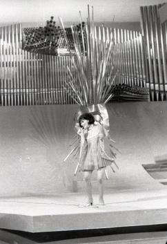 Muriel Day, representante de Irlanda en el Festival de Eurovisión 1969. Foto. Campúa