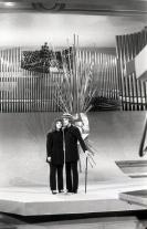 Jarkko & Laura fueron los representantes de Finlandia en el Festival de Eurovisión 1969. Foto. Campúa