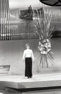 Siw Malmkvist, representante de Alemania en el Festival de Eurovisión 1969. Foto. Campúa