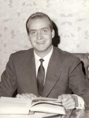 Retrato oficial de Juan Carlos. Foto. Campúa