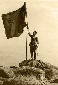 Toma del Gurugú (Marruecos), fotografiada por Campúa en 1921