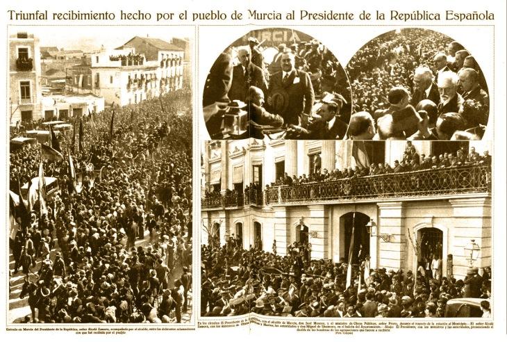"""Reportaje publicado en Mundo gráfico el 30 de marzo de 1932 con fotografías de José Demaría Vázquez """"Campúa"""""""