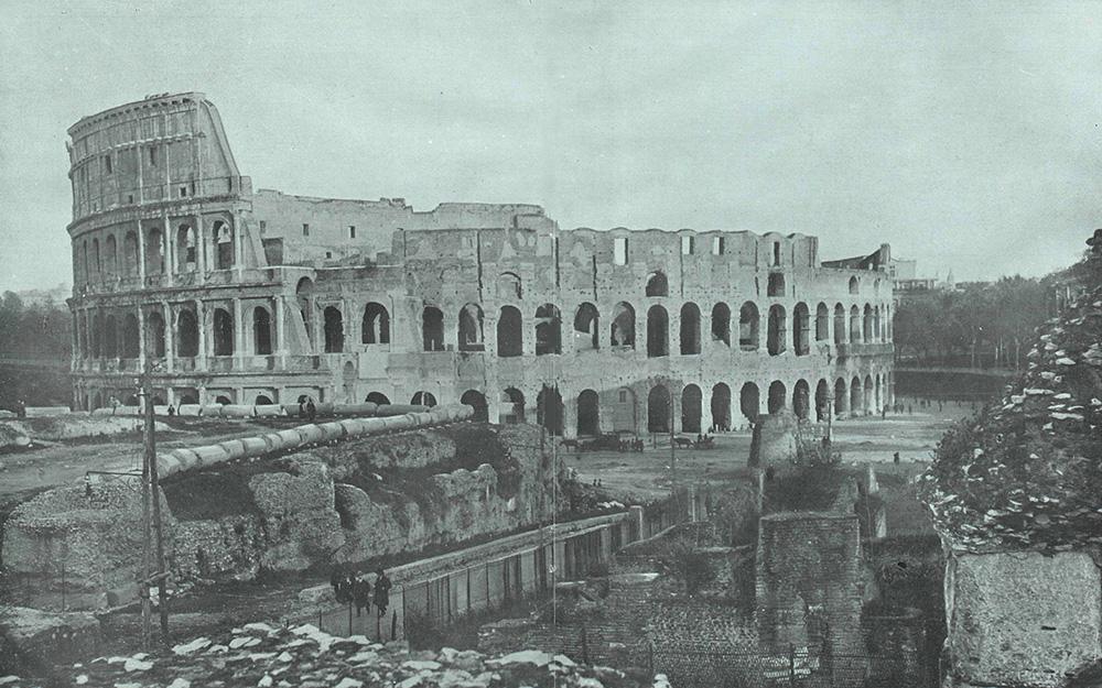Fotografía del Coliseo realizada por Campúa y publicada por La Esfera el 22 de diciembre de 1923